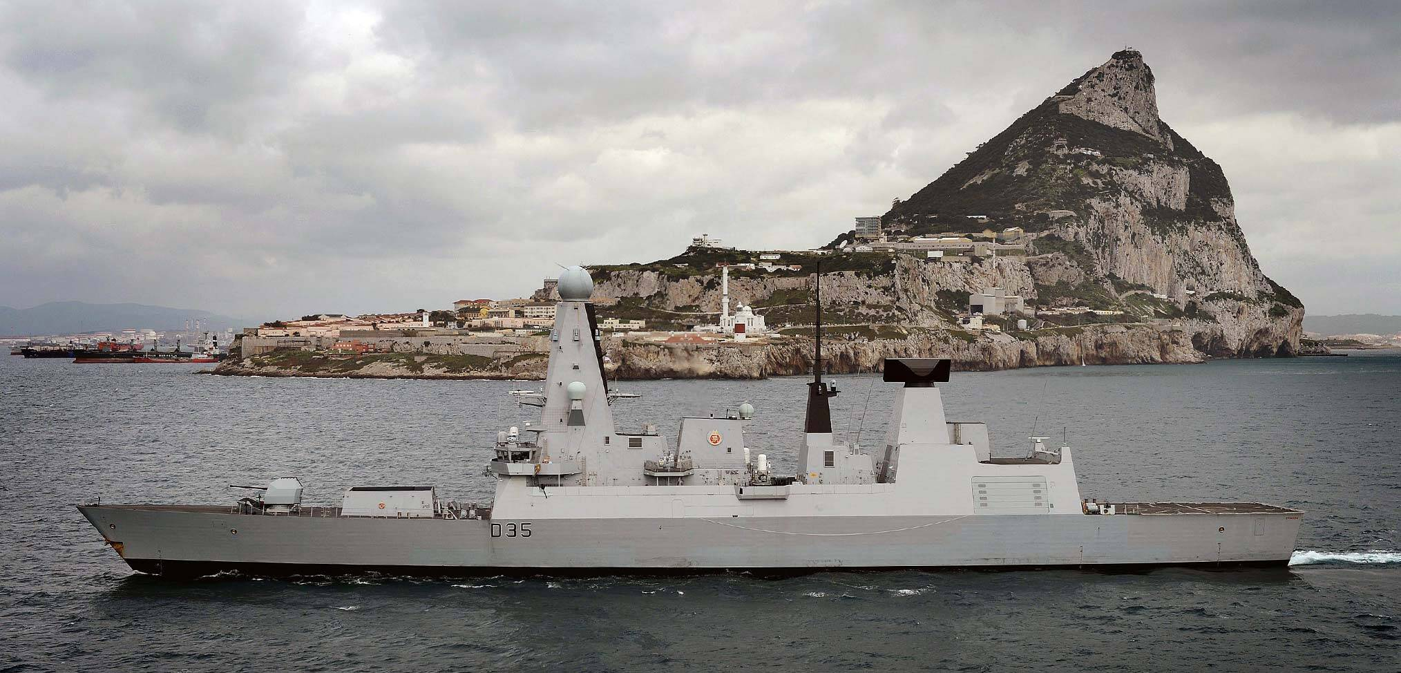 Gibraltar and the Royal Navy