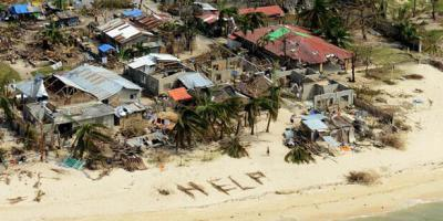 Mercy mission to the Philippines – in the finest traditions of the Royal Navy