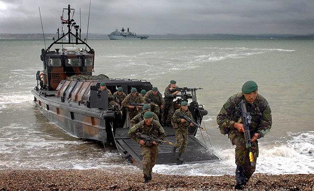 Happy 350th birthday Royal Marines, but mind the gap