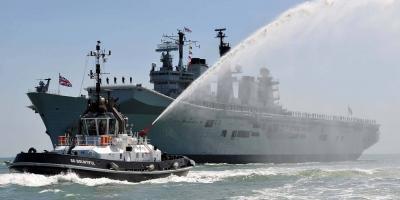 Farewell HMS Illustrious good & faithful servant