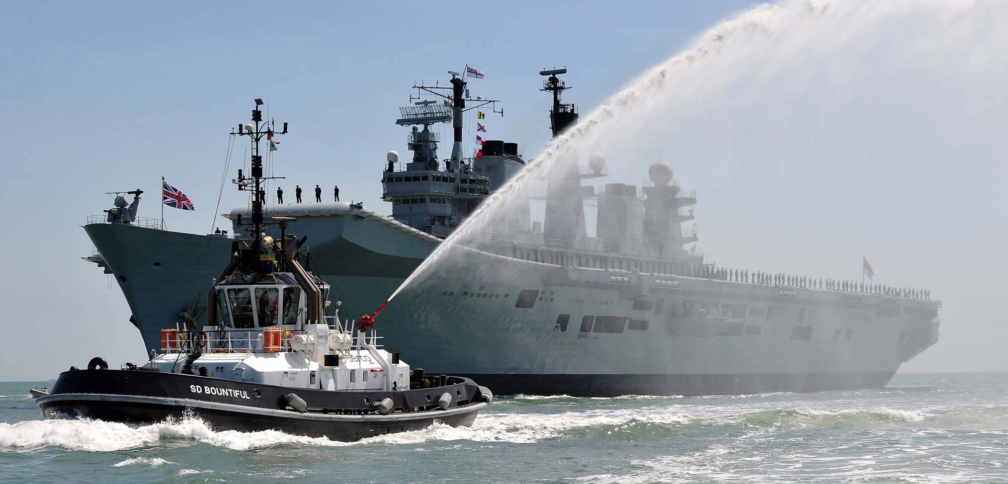 Farewell HMS Illustrious good & faithful servant