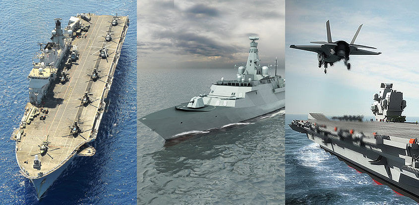 The big picture for the Royal Navy leading up to the 2015 SDSR