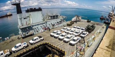 The Royal Navy – prime force for delivery of emergency aid and disaster relief
