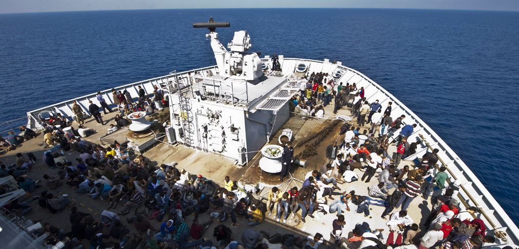 The RN's third major humanitarian mission in three years