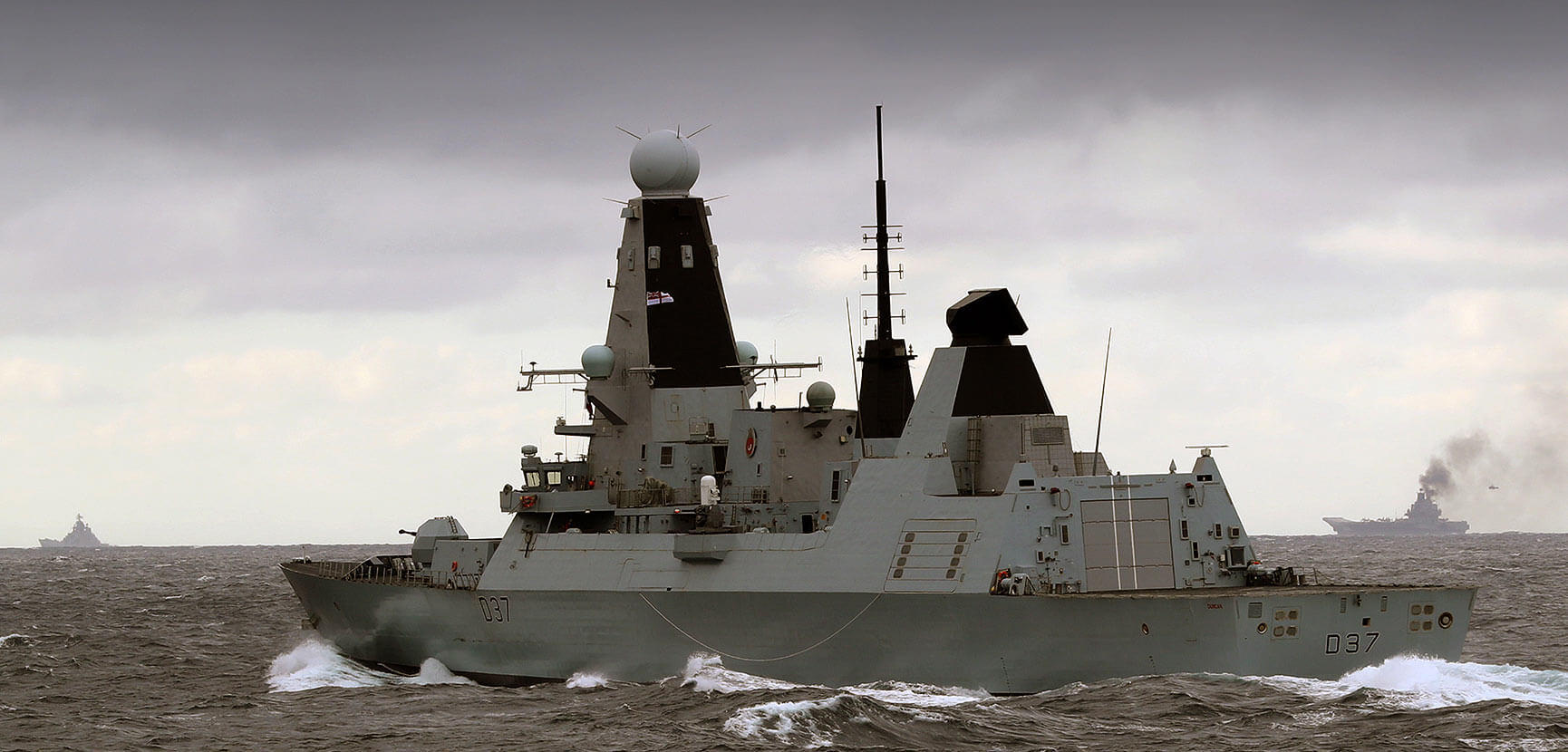 The Royal Navy – quietly getting on with the job