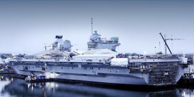 HMS Queen Elizabeth – making good progress
