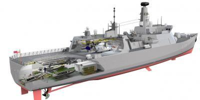 Steller Systems offers another option for the Type 31 frigate design