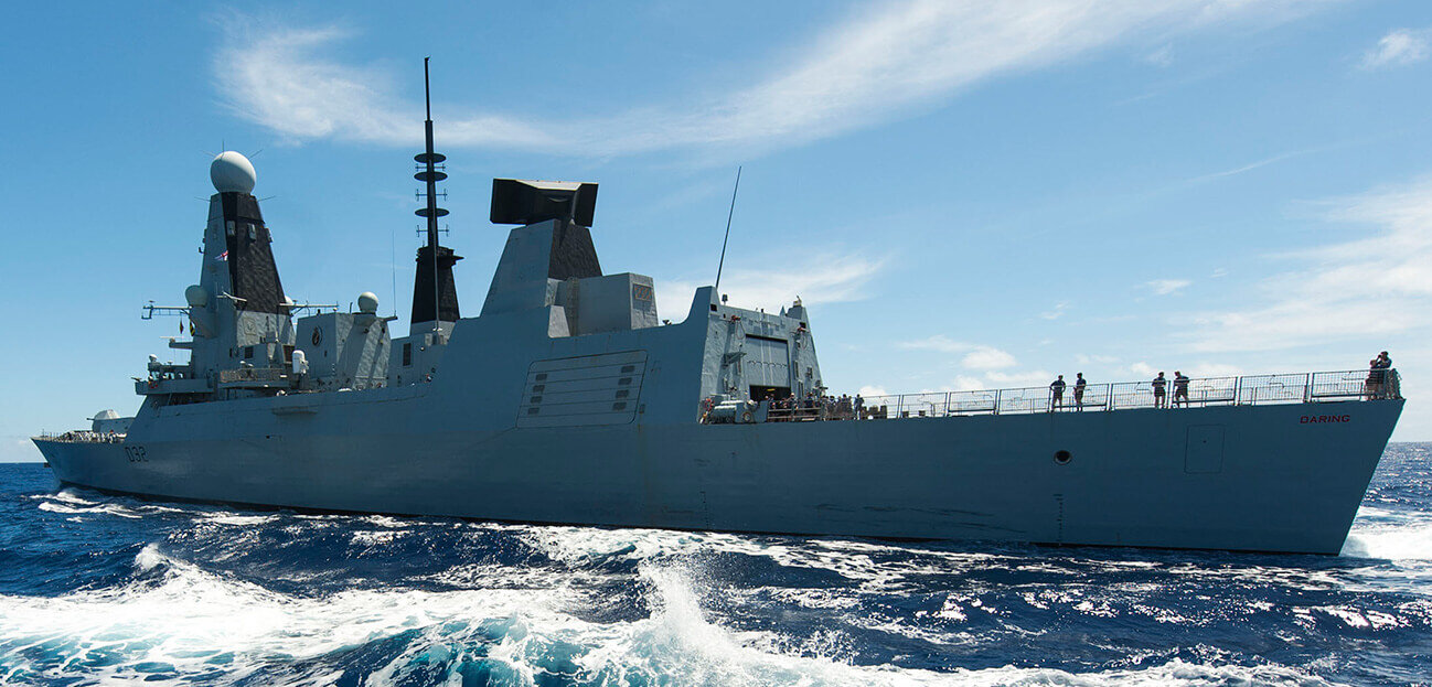 HMS Daring's deployment at the sharp end. Eventful. Successful. Important.