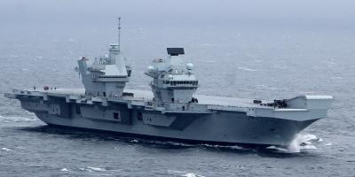 HMS Queen Elizabeth – her first week at sea