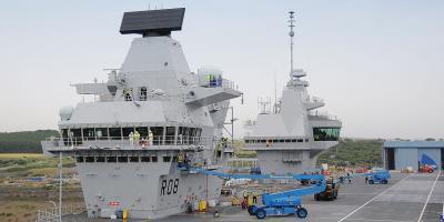 Up close with HMS Queen Elizabeth