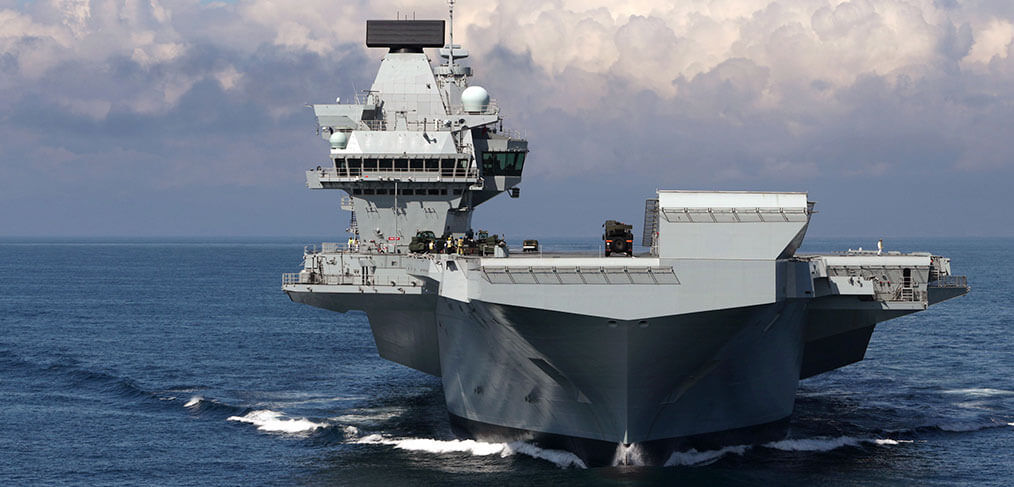 HMS Queen Elizabeth to enter Portsmouth for the first time on 16th August