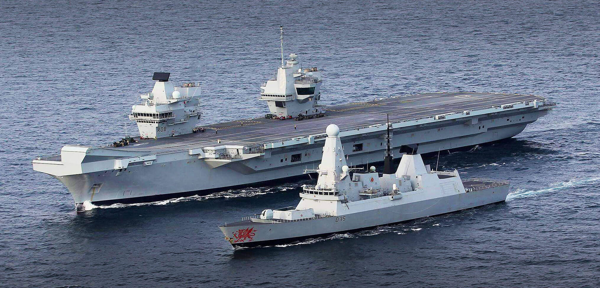 Royal Navy aircraft carriers  – vulnerable or fit for the fight?
