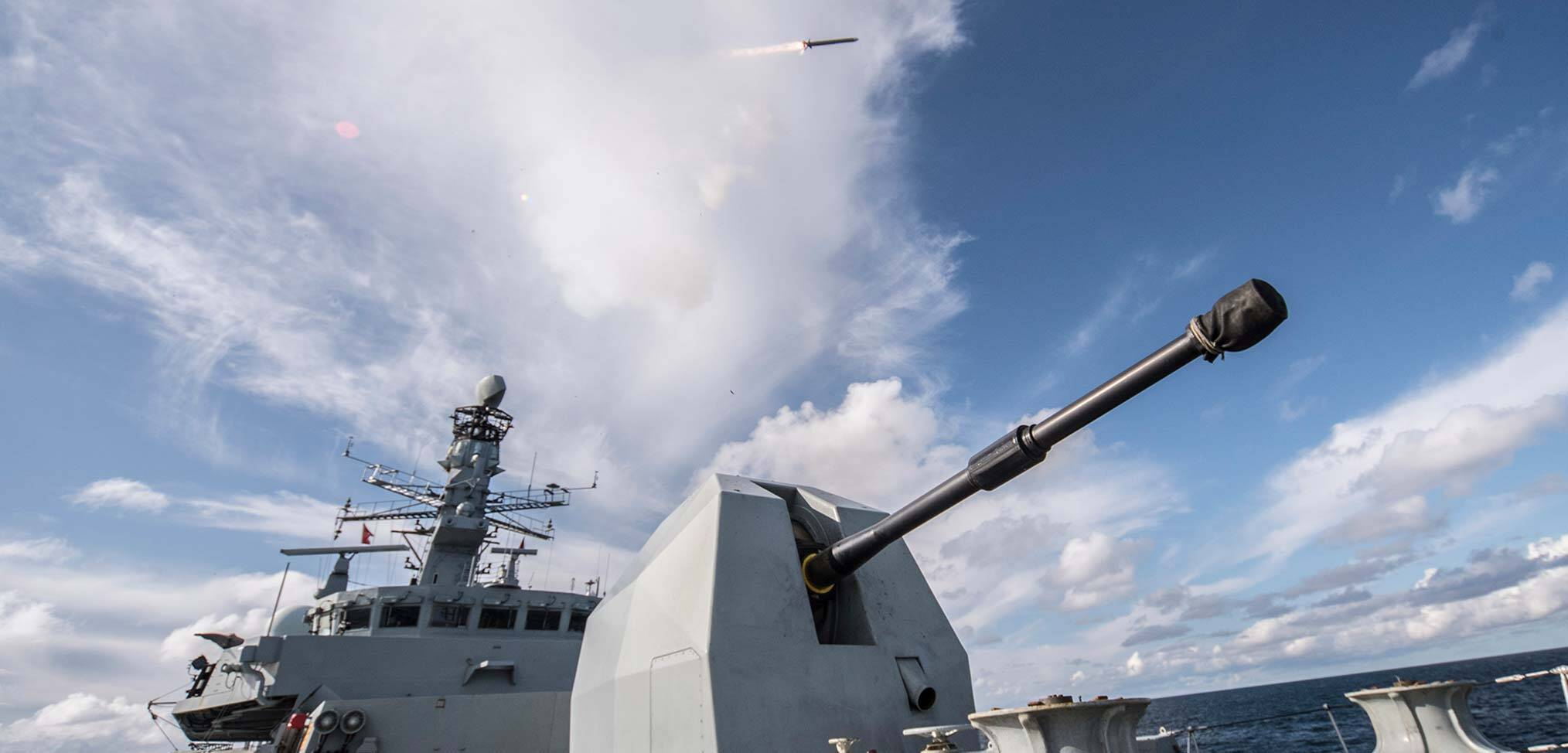 HMS Argyll successfully test-fires the Royal Navy's new Sea Ceptor missile