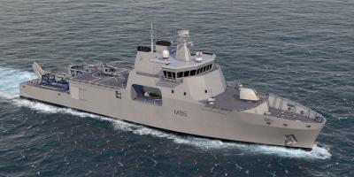 BMT introduces Venari 85 – candidate for future Royal Navy mine warfare vessel?