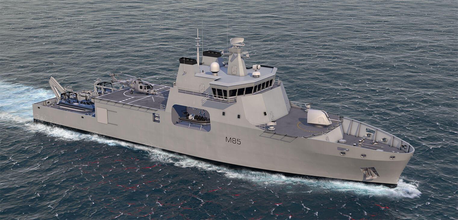 BMT introduces Venari 85 – candidate for future Royal Navy mine warfare vessel?