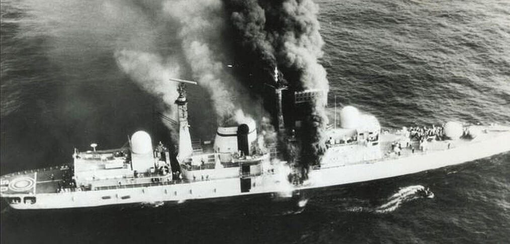 In perspective: the loss of HMS Sheffield