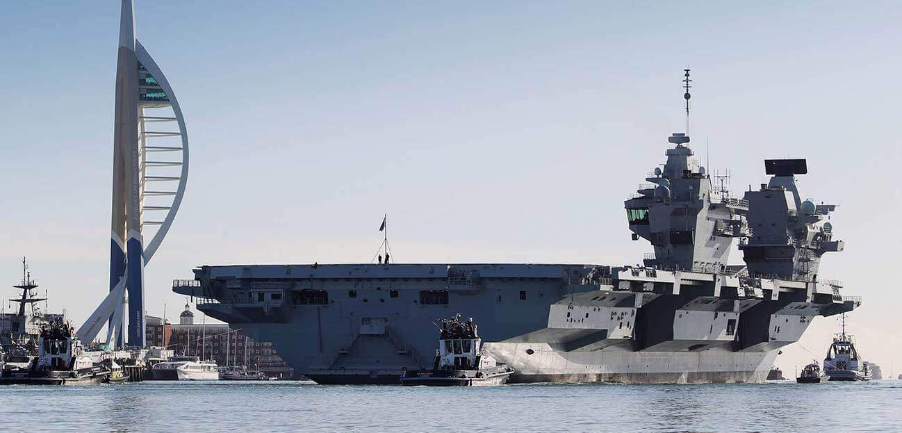 HMS Queen Elizabeth has sailed for part 2 sea trials