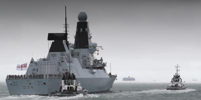 Type 45 Destroyer issues continue – HMS Diamond breaks down on Gulf deployment