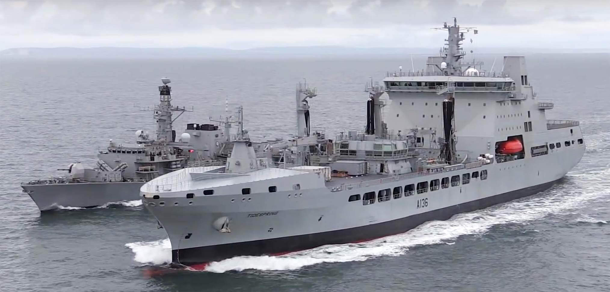 """""""The year of the Royal Navy"""" – a review of 2017"""