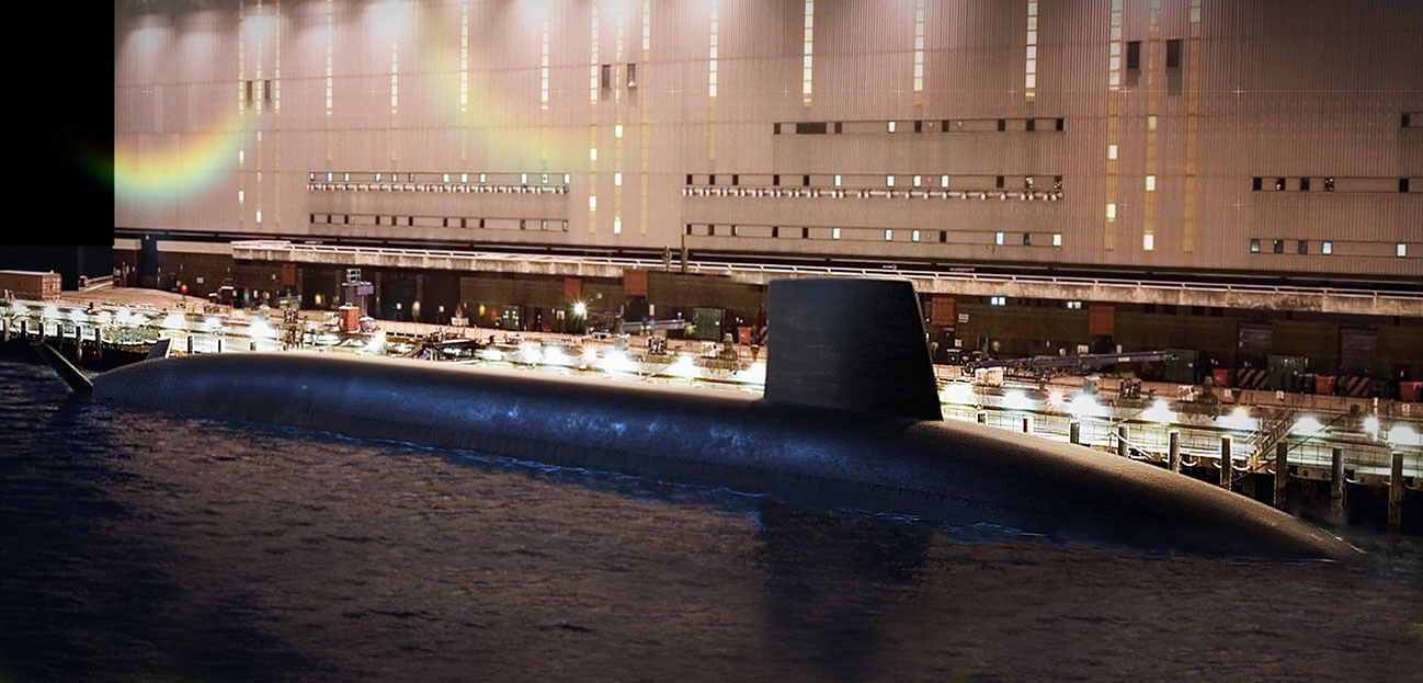The Dreadnought class submarine in focus