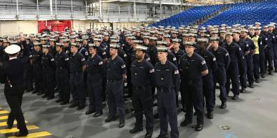 HMS Queen Elizabeth prepares for commissioning into the Royal Navy