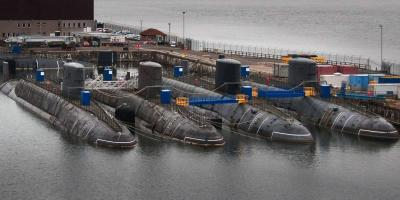 The painfully slow process of dismantling ex-Royal Navy nuclear submarines