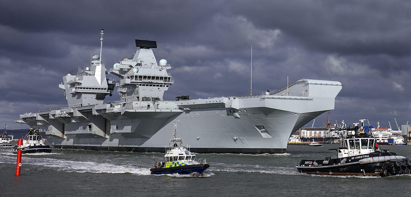 What's ahead for HMS Queen Elizabeth: training, flight trials and Gibraltar