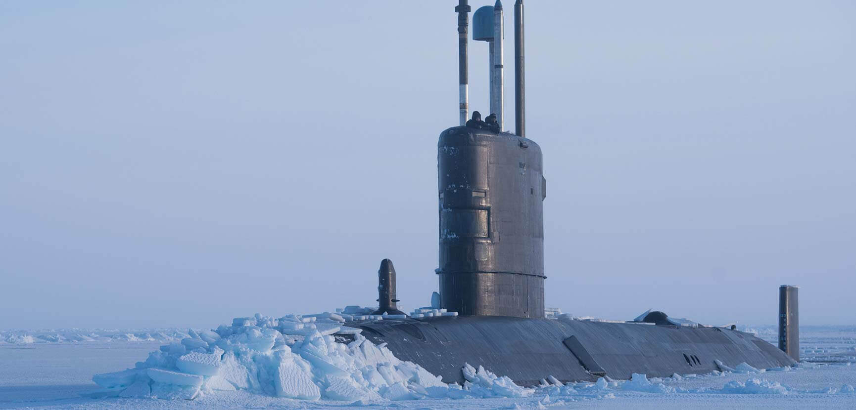 Royal Navy returns to the Arctic – HMS Trenchant surfaces in the ice