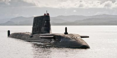 Why did no Royal Navy submarine launch missiles against Syria?