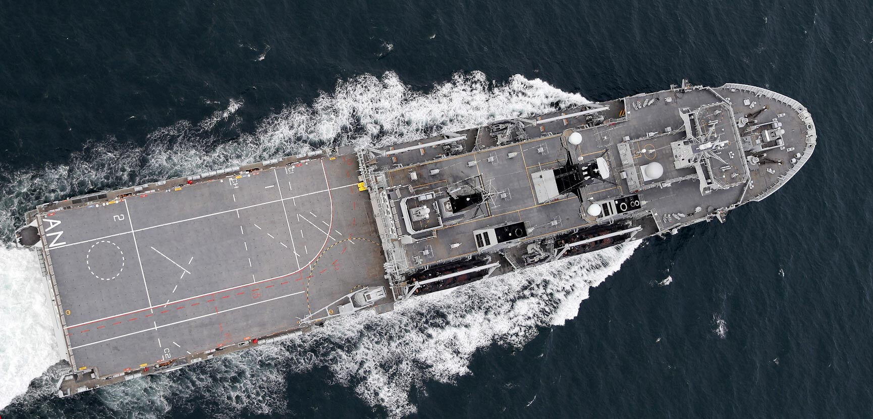 A continuous Royal Navy presence in the Pacific region this year