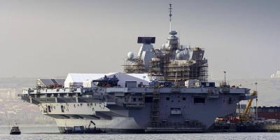 HMS Queen Elizabeth – preparing to operate fast jets