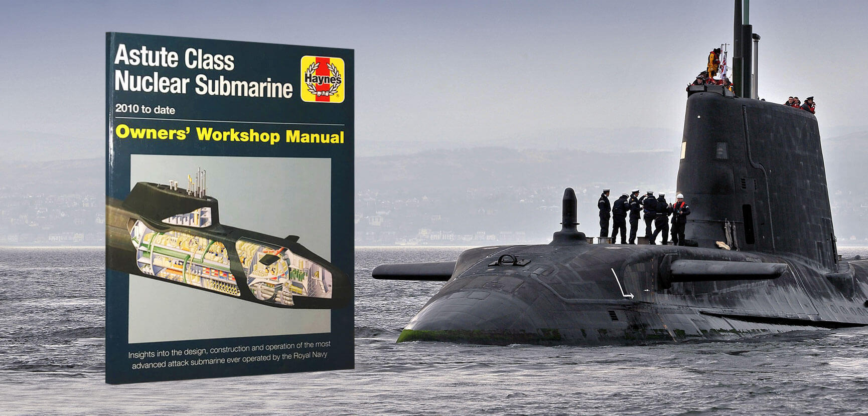 Astute Class Submarine Owners Workshop Manual – Book Review