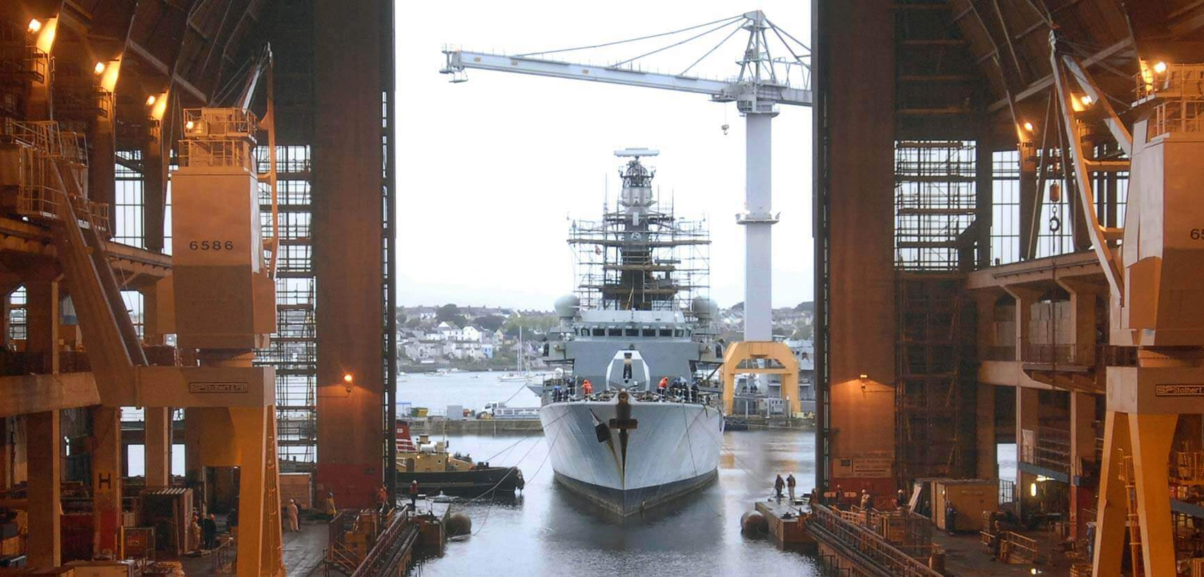 New engines for the Royal Navy's Type 23 Frigates