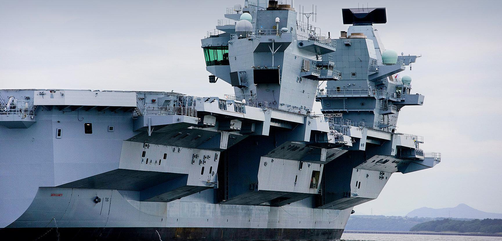 HMS Queen Elizabeth – built to survive