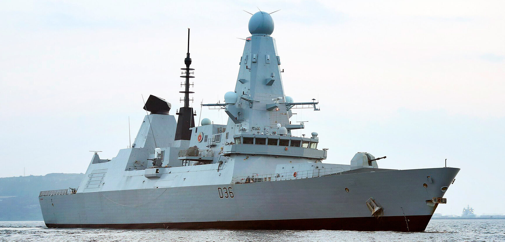HMS Defender returns to the fleet fitted for intelligence gathering