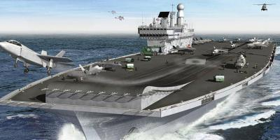 Development of the Queen Elizabeth class aircraft carrier – a design history