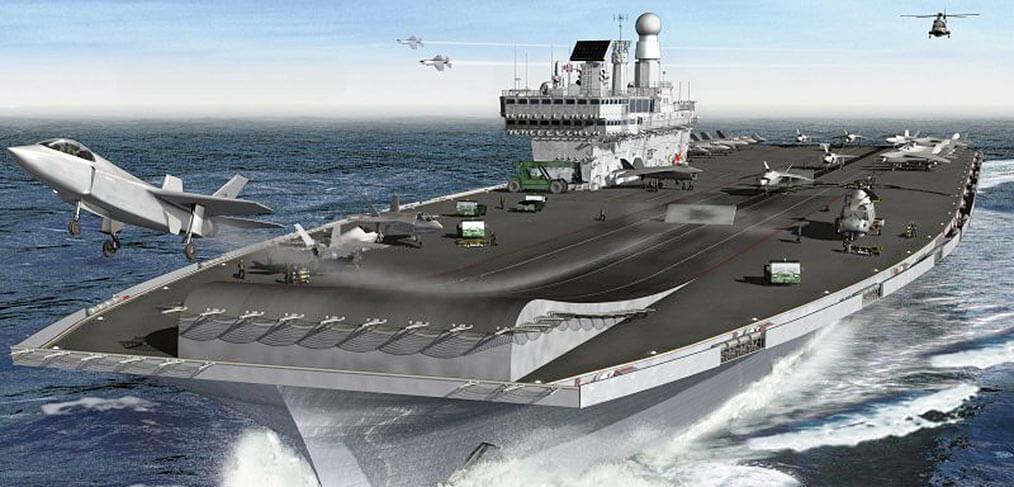 Development of the Queen Elizabeth class aircraft carrier – a design history