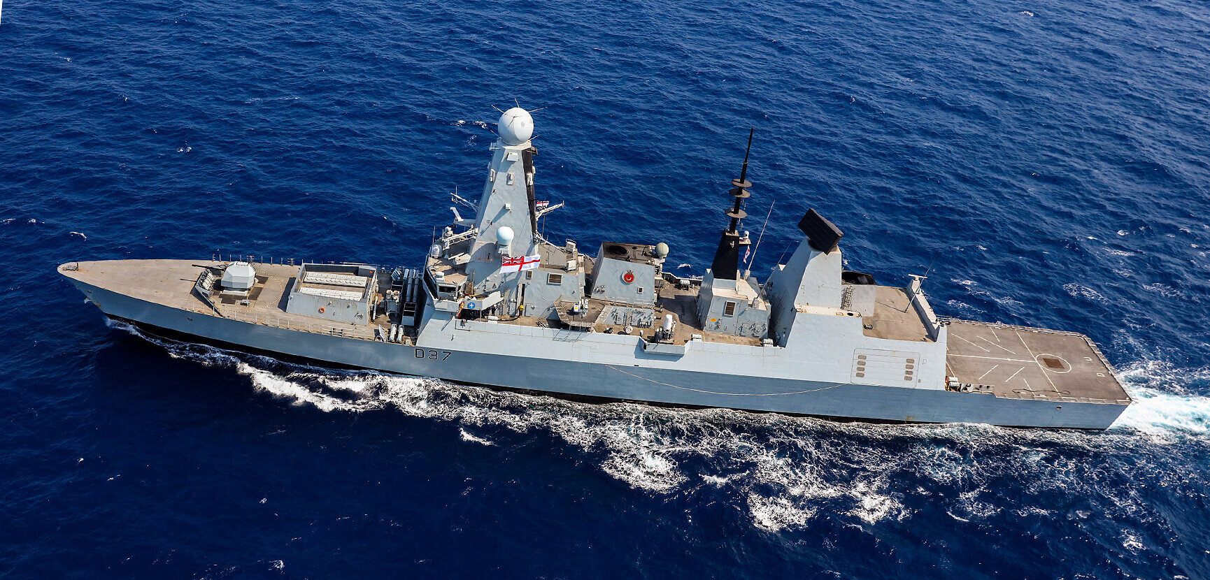 HMS Duncan buzzed by 17 Russian jets in the Black Sea