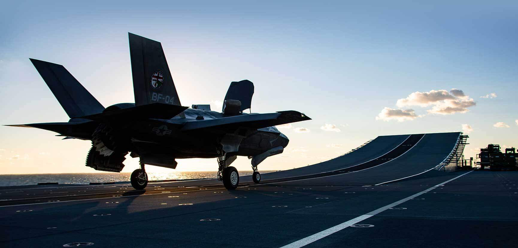 F-35 test flying from HMS Queen Elizabeth completed ahead of schedule