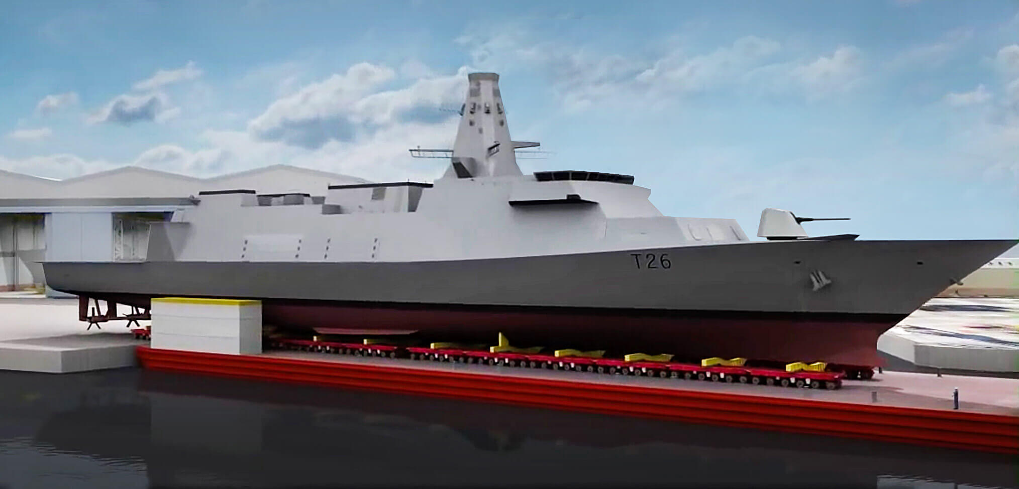Building HMS Glasgow – the first Type 26 Frigate