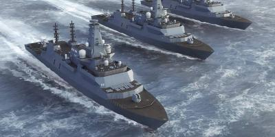 New techniques used in designing the Type 26 frigate