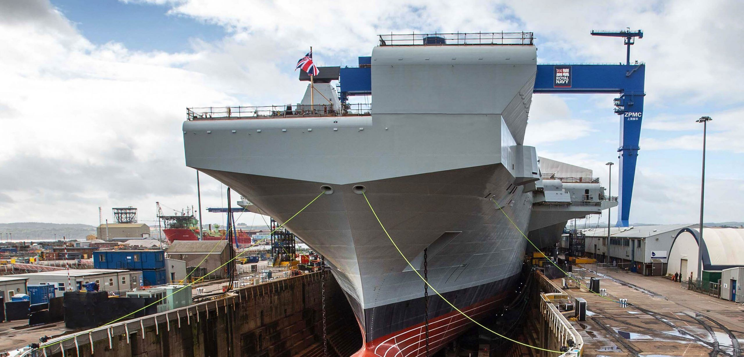 Dry docking the Royal Navy's aircraft carriers – what are the options?
