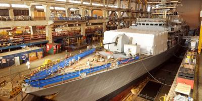 Progress on extending the life of the Royal Navy's Type 23 frigates