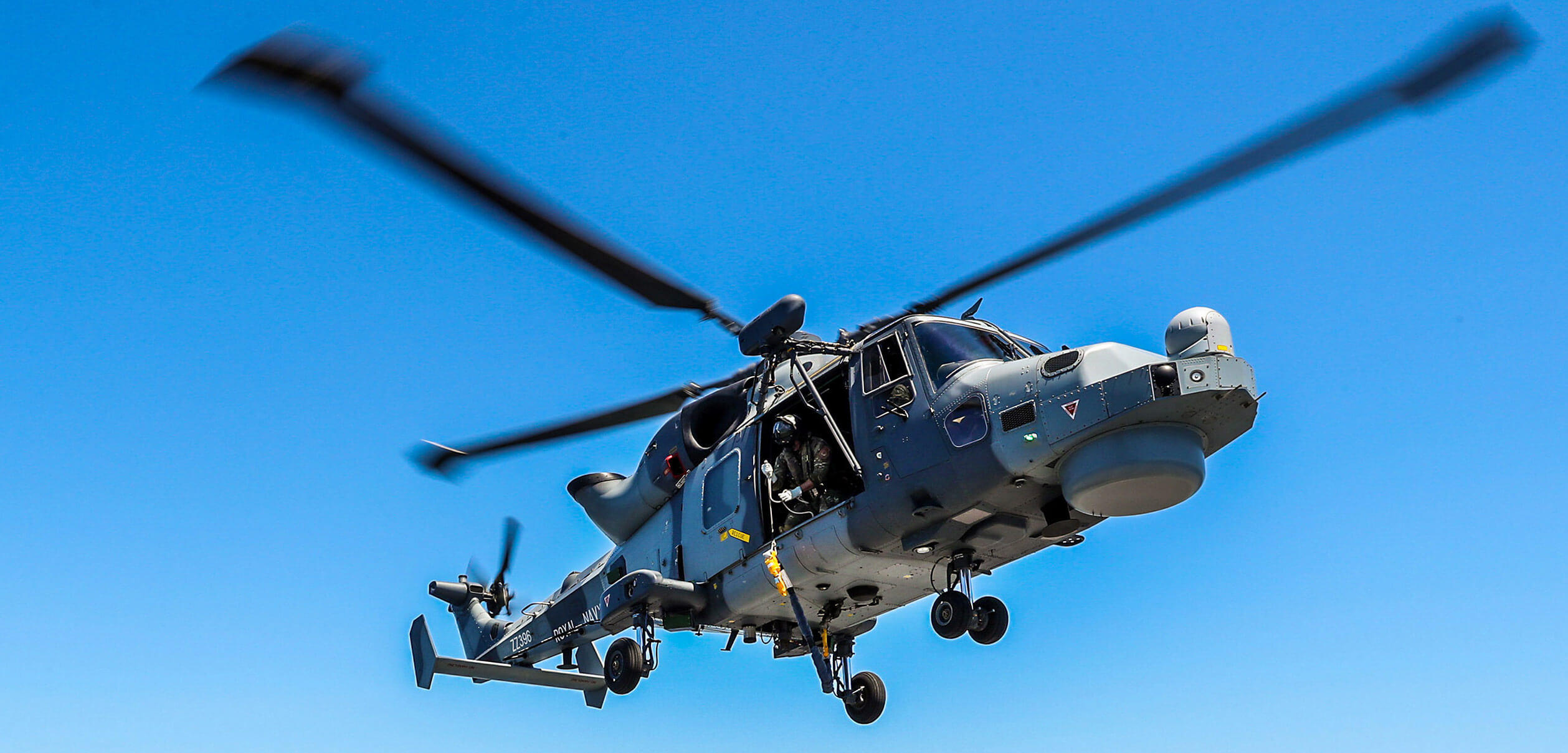 In focus: the Wildcat multi role helicopter in service with the Royal Navy