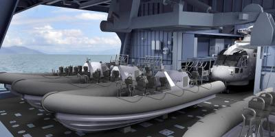 The Type 26 frigate mission bay. Part 1 – design and development