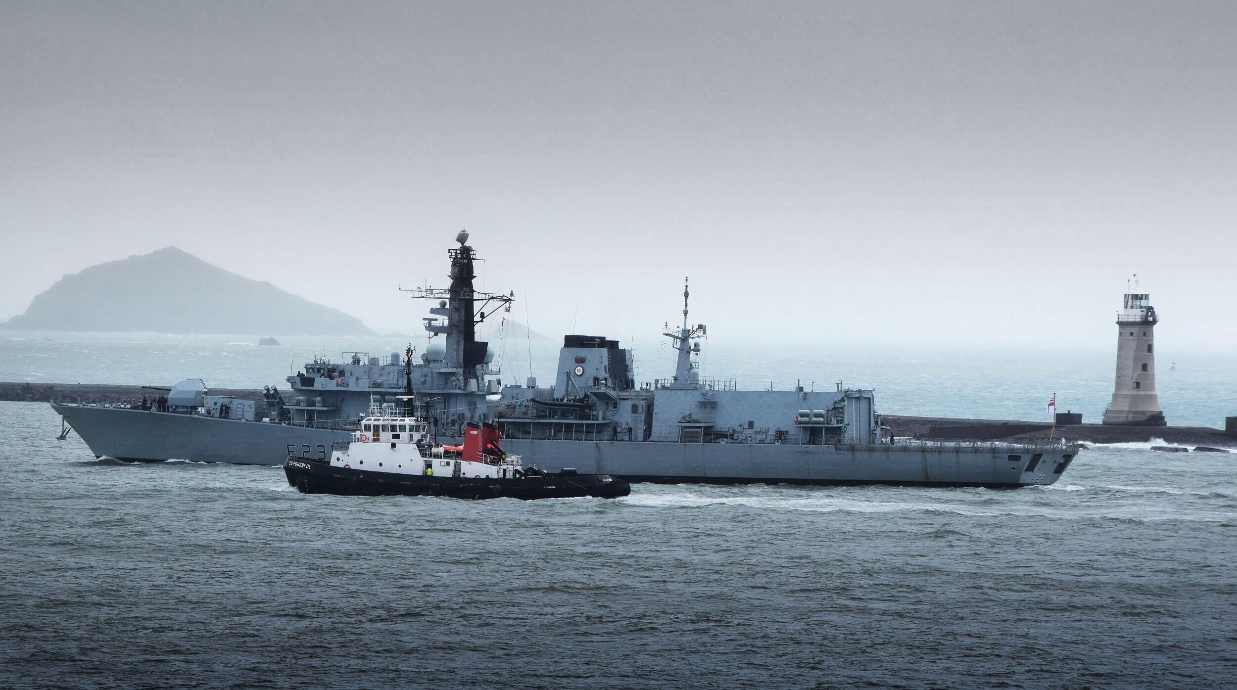 The Royal Navy's oldest frigate completes a memorable global deployment