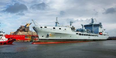 First Tide-class RFA tanker begins maintenance period at Cammell Laird