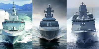 The Type 31e frigate candidates compared