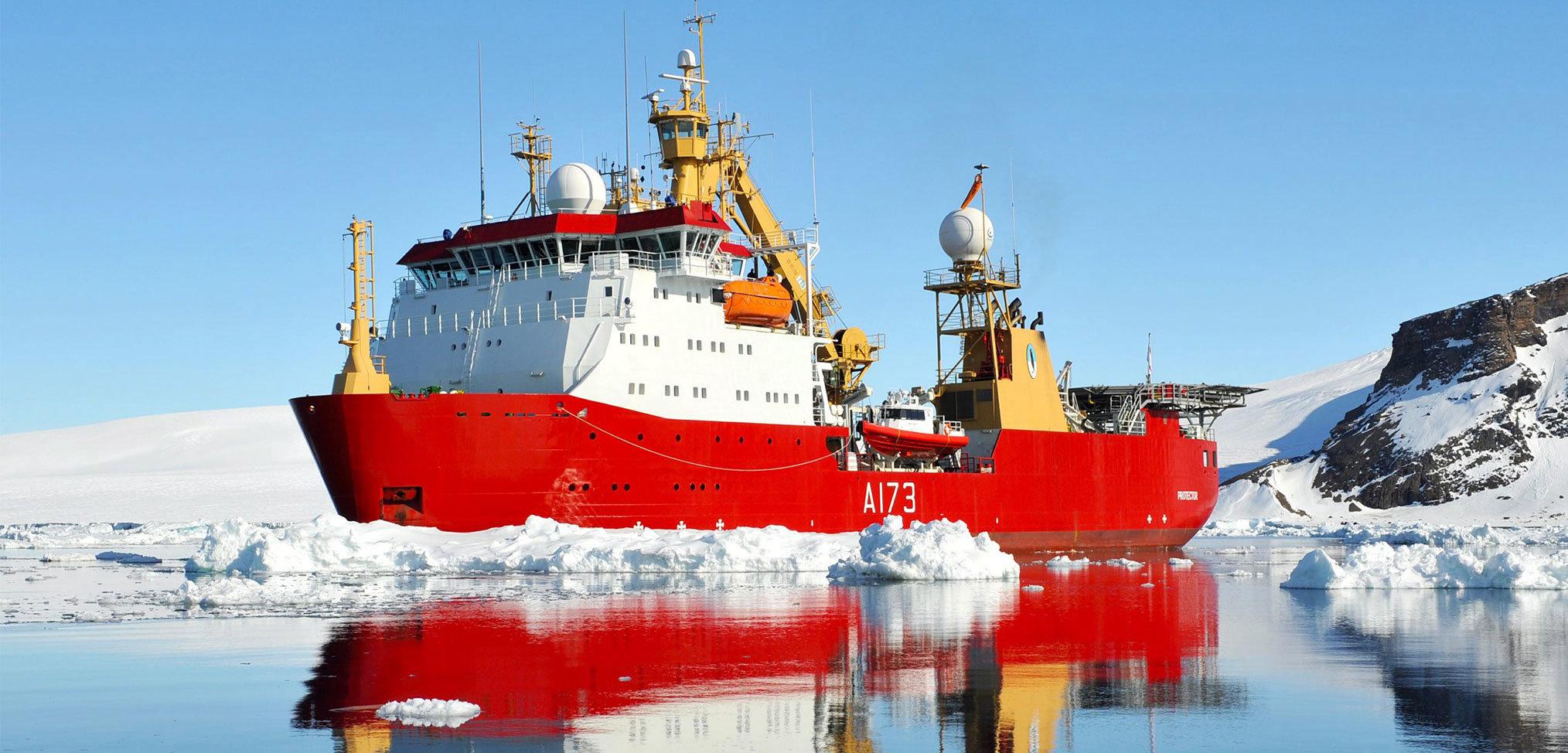 In focus: HMS Protector – the Royal Navy's Antarctic patrol ship