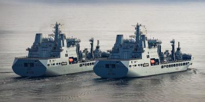 Photo essay: New Tide-class tankers conduct replenishment at sea trials